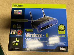 Linksys WAP54G Wireless G Access Point 2.4 GHZ -
