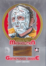 13-14 ITG Gerry Cheevers /9 GLOVE Masked Men Between The Pipes Bruins 2013