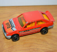 Vintage MAJORETTE FORD ESCORT XR3 Diecast Toy Rally Car No. 212 1:52 France