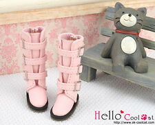 ☆╮Cool Cat╭☆【17-03】Blythe Pullip Doll Shoes Boots # Pink