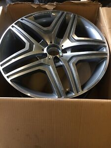 20'' ML63 Style Alloy Wheels With Tyres Fits Mercedes ML Class R Class GL Class