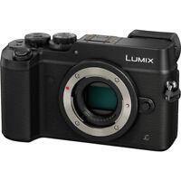 Panasonic Lumix DMC-GX8 Mirrorless Micro Four Thirds Digital Camera - Black