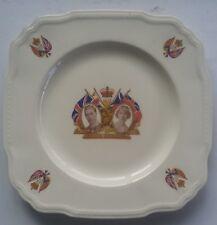 KIng George VI 1937 Coronation Plate Alfred Meakin Astoria Brooks Bakery Alta