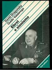 DRAGUNSKY VALABREGA EBREI E SIONISMO TETI 1986 STUDI E DOCUMENTI