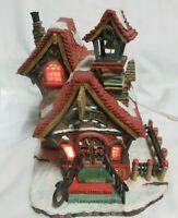 "Dept. 56 Storybook Village ""Lambsville School"" Building and  4 Accessories 1996"