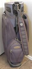 Great Divider Trolley L Cart Golf Bag 14 Slots Purple with Cover & Carry Strap