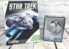 More details for eaglemoss collections star trek magazine issue 29 & jem'hadar fighter model