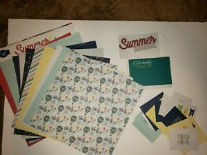 June 2020? Kiwi Lane Kit Paper and Cards only No Templates Summer Adventure
