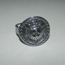 Carolyn Pollack Kenneth Johnson Turtle Sterling Silver Ring Size 8