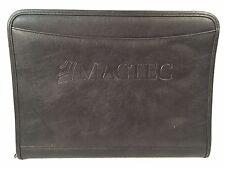 LEEDS Zippered Portfolio/Organizer Black Nylon MACTEC