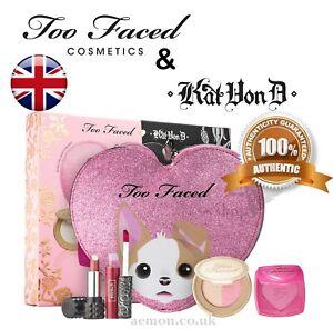 Too Faced x Kat Von D KVD Better Together Cheek & Lip Makeup Bag Set AUTHENTIC