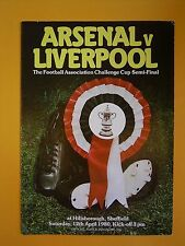 FA Cup Semi-Final - Arsenal v Liverpool - 12th April 1980
