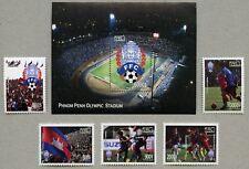 Kambodscha Cambodia 2018 Fußball Soccer Sport Stadion 2600-2604 Block 237 A MNH