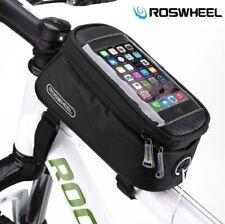 Roswheel Top Tube Phone Bag for Road Bike/MTB Waterproof Touch Screen Frame Case