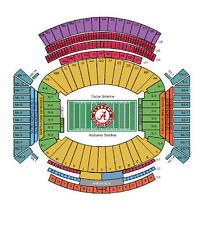 Alabama Crimson Tide Football vs Mississippi State Bulldogs Tickets 11/15/14...