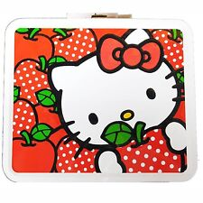 Hello Kitty Lunchbox Metal Lunchbox Collectible Loungefly Sanrio NEW
