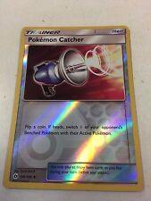 "POKEMON CATCHER 126/149 REVERSE HOLO ""SUN & MOON"" POKEMON CARD MINT"