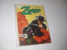 LA FRUSTA DI ZORRO N. 4 CERRETTI EDITORE 1977 No Diabolik !!!