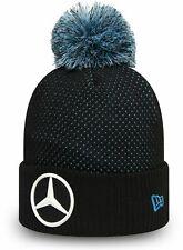 Mercedes AMG Petronas New Era Black Bobble Hat