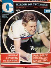 Miroir du Cyclisme n°229 Mars-Avril 1977 / Jan Raas / Poster JL Molineris
