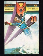 Miracleman #1 (3D Glasses) Eclipse Comics~ (8.0) WH