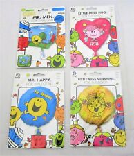 Pack of 4 Assorted Mr Men Foil Helium Balloons - Party Balloon