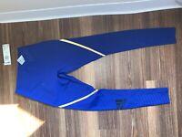 Adidas Alphaskin 360 Long Tight Men's Training Small Mystery Ink Blue