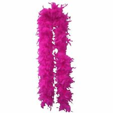 QUALITY HOT PINK FEATHER BOA BOAS HEN NIGHT DANCE PARTY SHOW COSTUME SUPPLY