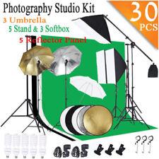 "Photography Video Studio Lighting Kit Background Stand Set 3x33"" Umbrella Us"
