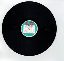 78T 25 cm BECHET - SPANIER BIG FOUR Disque Phonographe CHINA BOY - JAZZ 502 RARE