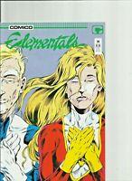 ELEMENTALS Issues 14-19 Comico Comics Lot of 6
