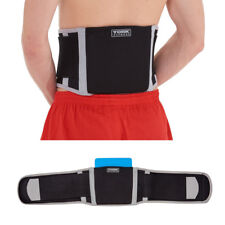 York Lower Back Support Adjustable Lumbar Sports Belt Brace and Pad