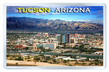 TUCSON ARIZONA USA FRIDGE MAGNET SOUVENIR IMAN NEVERA