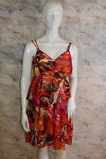QUE SERA maternity Umstandskleid Kleid Volants bunt Ibiza-Style Gr 36 Neu; K1 37