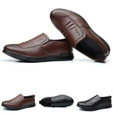Mens Pumps Business Comfy Slip on Loafers Faux Leather Driving Moccasins Shoes D