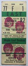 Beatles Original Unused Concert Ticket Maple Leaf Gardens Toronto 1966