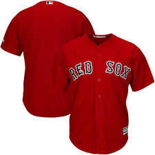 Boston Red Sox Cool Base Jersey 6XL Home Red Plus Sizes Big & Tall Majestic MLB