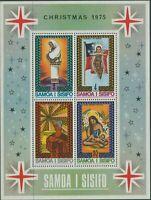 Samoa 1975 SG458 Christmas MS MNH