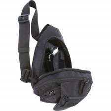 Black Concealed Hand Gun Holster Sling Bag Day Pack Pistol Holder CCW Shoulder