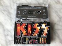 Kiss Alive III Cassette Tape 1993 Mercury Detroit Rock City Gene Simmons RARE!