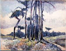 Dresdner Heide / Langebrück Dresden 1932 Paul Groß (1873-1942) NEUE SACHLICHKEIT
