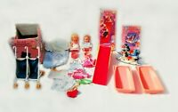 Vintage Palitoy Carrie and Christopher Dolls Bundle Clothes Accessories