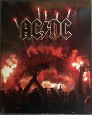 AC DC set of 20 Stamps Depicting Album Cover Artwork In Official Booklet