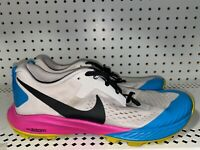Nike Air Zoom Terra Kiger 5 Mens Athletic Trail Running Shoes Size 9 Multi Color