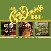 CHARLIE BAND DANIELS - THE EPIC TRILOGY 4  2 CD NEW!