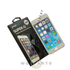 Apple iPhone 7/6s Prodigee Colored Tempered Glass - Silver Cover Film Guard