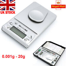 0.001g - 20g Electronic Scale Digital Jewelry Gold Mini Pocket Weighing Scales