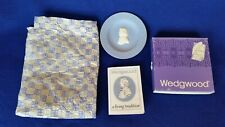 Wedgwood Jasperware Blue and White Collectors Society Small Plate Iob