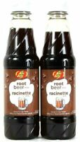 (2 Bottles) Jelly Belly Root Beer Syrup For Ice Treats 16 Oz Best By 4/2022