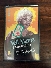 ETTA JAMES - TELL MAMA. 16 GREATEST HITS - AUDIOCASSETTA
